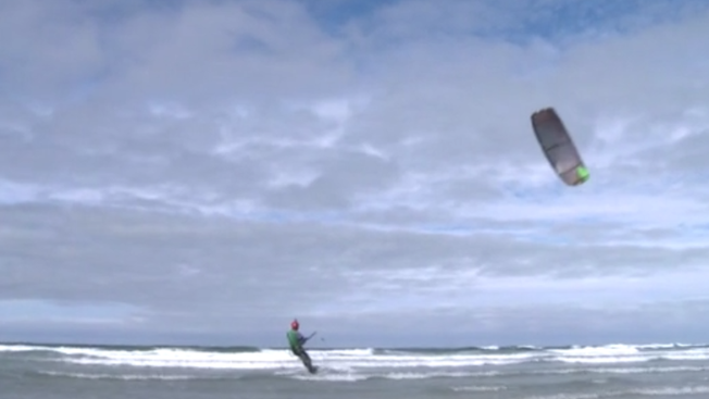 Richard Bramble kitesurfs to the Monach Isles in the Outer Hebrides